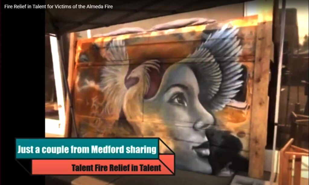 Fire Relief in Talent